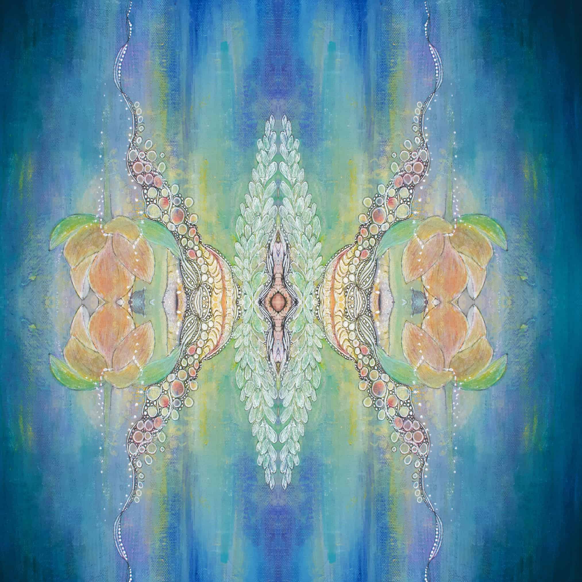 Moon Goddess sexuality mandala